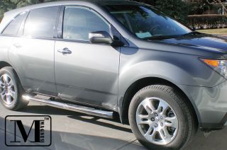 Acura Mdx Chrome Side Step Stainless Nerf Bars (Fits 2010 Acura MDX