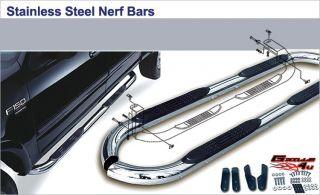 06 08 Audi Q7 S/S Nerf Bars (Fits Audi Q7)