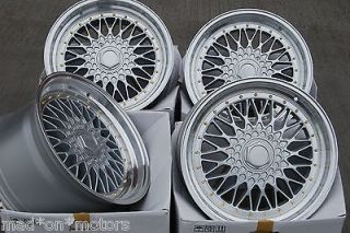 18 SILVER RS STYLE ALLOY WHEELS FITS BMW E188 1 SERIES