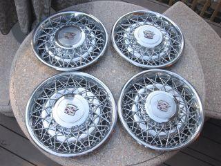 Brand New Vintage CADILLAC ELDORADO SEVILLE Hubcaps Wheel Covers