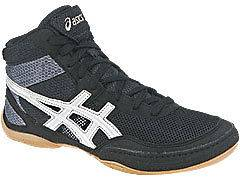 NEW Asics Matflex 3 Mens Wrestling Shoes, Black n White, Most Sizes