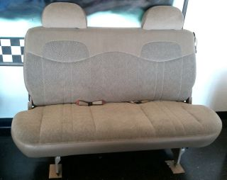CHEVY ASTRO VAN ASTROVAN SAFARI GMC 3rd row bench seat (Fits Astro)