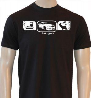 EAT SLEEP BENTLEY GT CONTINENTAL MENS CAR T SHIRT ES26