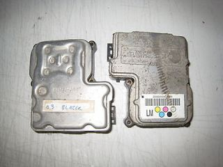 2000 2001 2002 Chevy S10 Blazer Sonoma ABS EBCM Anti Lock Module