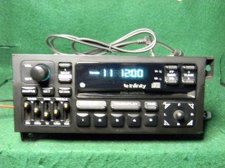 Chrysler Jeep Dodge Infinity CD radio Ipod  Sat AUX input
