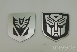 and 1 Autobot Emblem Transformer Dodge Chrysler Neon SRT8 Camaro