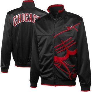 chicago bulls track jacket in Athletic Apparel