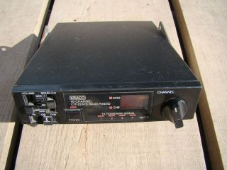 KRACO KCB 4007 40 CHANNEL CB RADIO MOUNTING BRACKET GOOD UNTESTED