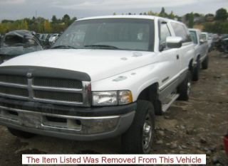 94 95 DODGE RAM 2500 PICKUP FRONT AXLE ASSEMBLY