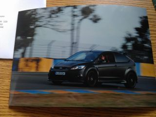 FORD FOCUS RS500 / RS 500   PRESS RELEASE & PRESS PHOTOGRAPH   2010