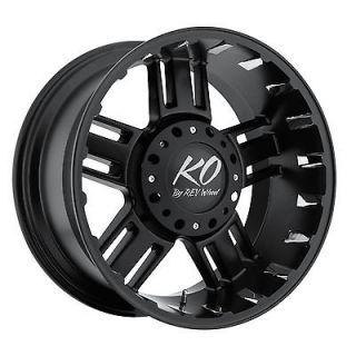 KO REV Beast Wheels GMC Chevy Dodge Truck 2500 3500 Silverado 8 lug