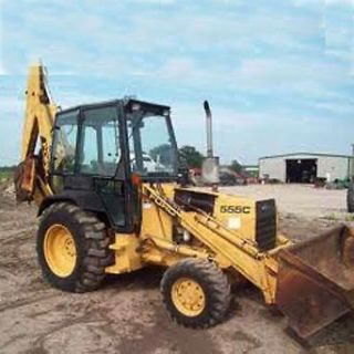 Ford Tractor 455c 555c 655c Backhoe Loader Shop Service Repair Manual