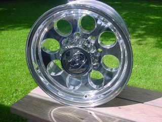 ION DODGE 16X8 GMC 8 LUG BAJA STYLE CHEVY FORD ION 171 POLISHED WHEEL