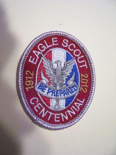 BOY SCOUT PATCH EAGLE SCOUT CENTENNIAL 1912   2012 UNUSED
