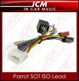 CT10HD02 Honda Bluetooth Car Kit Parrot SOT Lead T Harness ISO Wiring