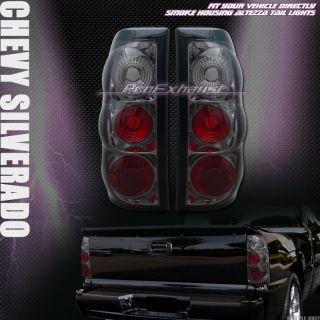 TAIL LIGHTS REAR BRAKE LAMPS 03 06 CHEVY SILVERADO 1500 TRUCK CAB