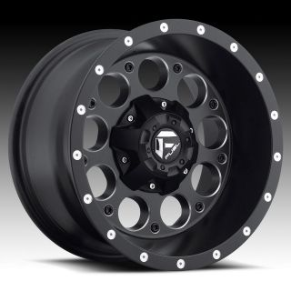 20x10 Fuel Revolver black wheel rim 8x170 Lifted F250 F350 Excursion