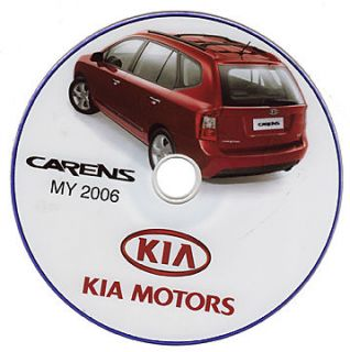 Kia Carens manuale officina workshop manual