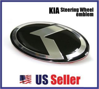 NEW KIA FORTE KOUP Steering Wheel K LOGO Emblem Coupe