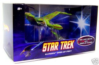 HOT WHEELS Star Trek KLINGON BIRD OF PREY MATTEL