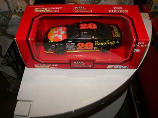 Allison 1993 #28 Havoline Ford Nascar Die Cast Racing Champions 124