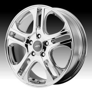 14 inch axl chrome wheels rims 5x4.25 5x108 lincoln ls mk vlll xk xf