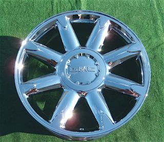 GMC 1500 SERIES SIERRA YUKON DENALI YUKON XL 20 CHROME OEM WHEEL RIM