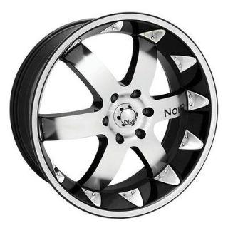 NOIR Vendeta wheels&tires 305/40/22 chevy Cadillac GMC Charger 6 lug