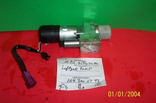 MERCEDES BENZ ML350 ML500 LIFT GATE HYDRAULIC PUMP 164 800 07 48