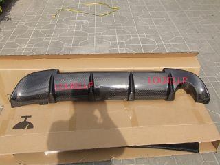 Mitsubishi Lancer EVO 9 IX Carbon Fiber Rear Bumper Diffuser Lip