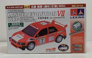 Mitsubishi Lancer Evolution VII WRC Car Component Kit by LEXING