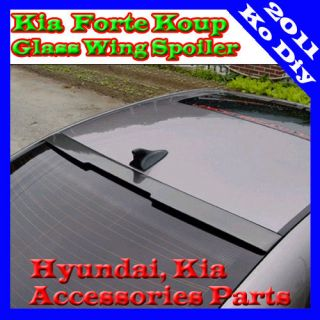 2010 2011+ Kia Forte Koup [Cerato Koup] Rear Window Roof wing Spoiler