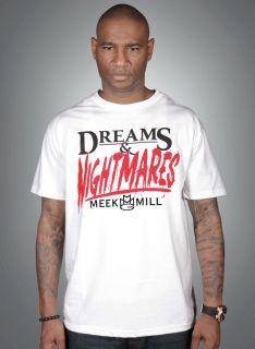 Meek Mill Dreams & Nightmares T Shirt MMG Hoodie Sweatshirt clothing