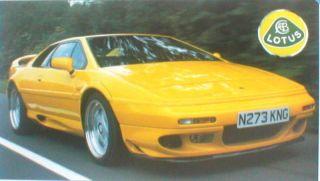 Lotus ESPRIT V8 vs. TVR CERBERA Road Test Brochure
