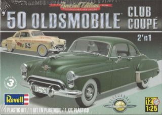 Revell 50 Oldsmobile Club Coupe Plastic Model Car Kit Scale 1/25 #85