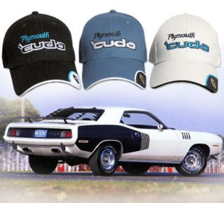 Plymouth Cuda Hat  Mopar HEMI AAR Barracuda 340 383 440 Six Pack