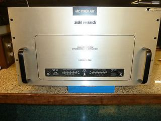 Audio Research Model D160 High Definition Stereo Tube Amplifier
