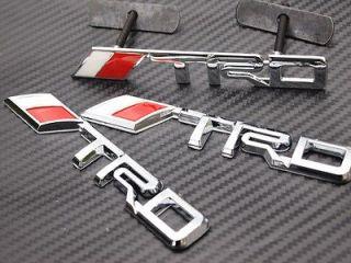 logo Chrome Metal 3D Grill badge grille emblem Toyota Camry Scion tC