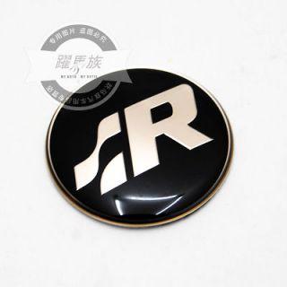 1PCS R line VW Volkswagen Golf Sciroco CC Steering Wheel Cap Emblem