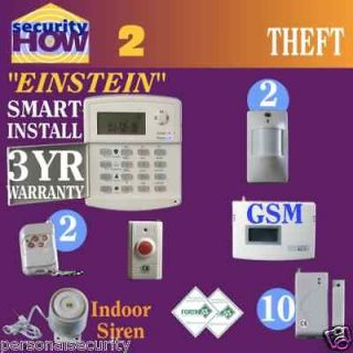 how to connect my home security system