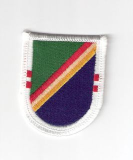 MILITARY PATCH U.S ARMY 2nd BATTALION 75TH RANGER FLASH