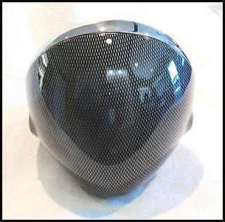 TRIUMPH BONNEVILLE TIGER CUSTOM CAFÈ CARBON FIBER LOOK HEADLIGHT PN