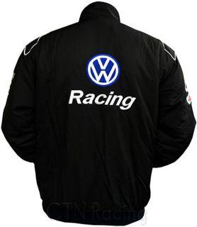 vw volkswagen gti motor sport racing coat jacket m 5xl. Black Bedroom Furniture Sets. Home Design Ideas