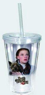 Wizard Of Oz Acrylic Tumbler Drinking Glass Dorothy & Toto