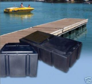 Floating Dock Line White 3/8x15 MFP Boat 12 Loop