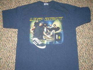 Limp Bizkit 2000 Concert T Shirt Large