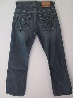 Brand New MEK Denim Mens Jeans Voyage Collection Straight Cologne