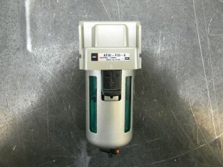 SMC AF30 F03 6 PNEUMATIC WATER FILTER AIR COMPRESSOR 3/8 NPT 145 PSI