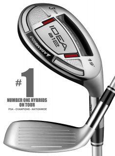 Adams Golf IDEA A12 Hybrid Utility Club   #5 (23*) Graphite Regular