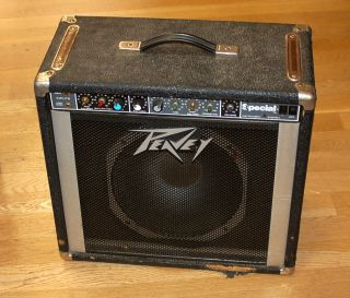 Vintage Peavey Special   Solo Series Guitar Amp   Scorpion Speaker
